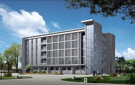 [地标建筑]198米办公楼幕墙工程量清单报价实例(附图纸)