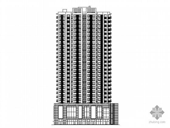 [四川]某二十六层商住楼建筑施工图