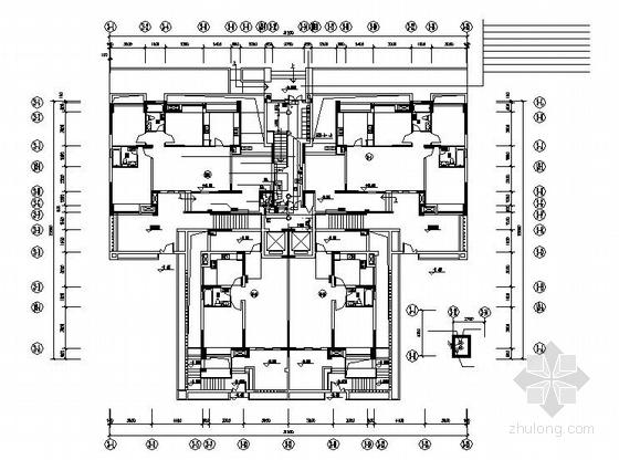 湖北某18层住宅小区电气施工图