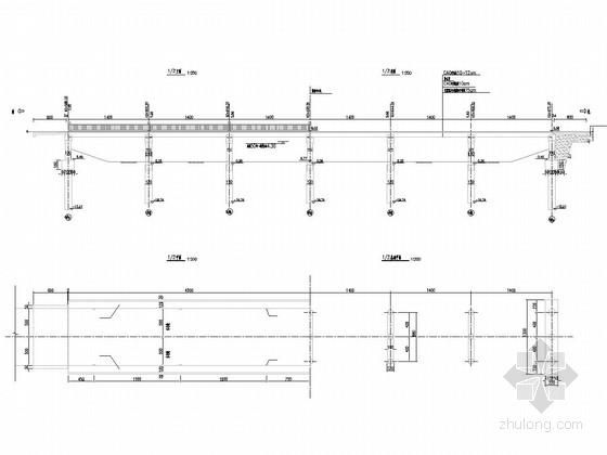 [山东]6×14m简支板桥图纸30张(桥面连续)