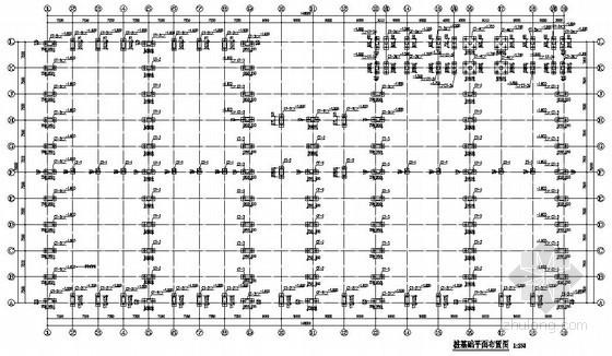 [广东]钢结构物流仓库建筑结构施工图(29米跨 桩基础)