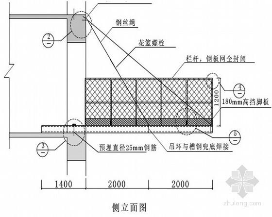 办公楼钢管脚手架施工方案(落地式、悬挑式)