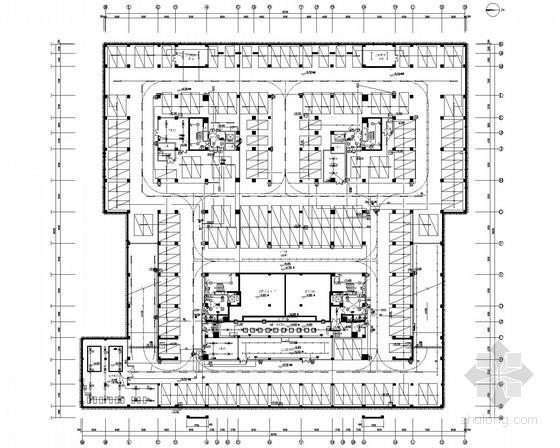 [湖北]8層大學圖書館電氣全套施工圖(知名設計院)
