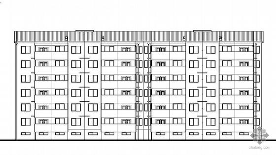 某小区8栋商住楼建筑设计方案