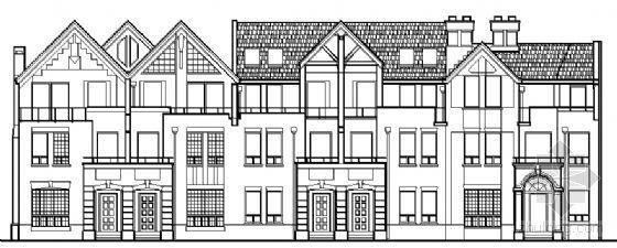 [清水湾]某联排别墅区十套建筑群方案图集