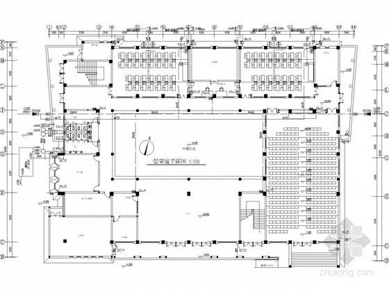 [湖北]知名中学科技楼水电安装施工图纸