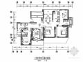 [深圳]花园小区中式风格四居室样板间装修图(含效果)