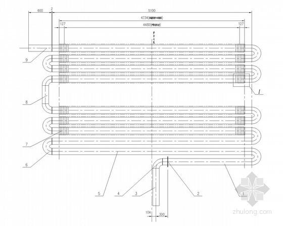建筑给排水设备安装大样图(68张)-对流排管