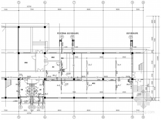 三层厂房办公楼给排水及消防施工图