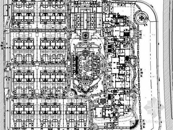 [厦门]花园高档别墅区环境绿化景观施工图