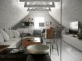 阁楼客厅3D模型下载