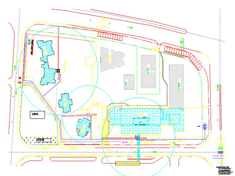 住宅小区施工总平面图(多张)