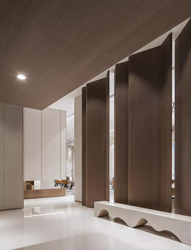 精致材料和简洁配饰,打造出低调素雅的空间_21