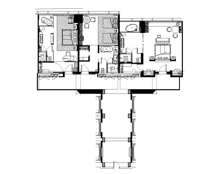[CCD&KNA]丨珠海洲際设计方案PDF+JPG丨样板房方案+施工图CAD格式+物料书