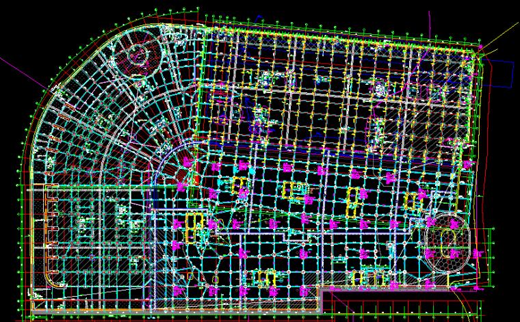 重庆恒大中央广场A区全套结构图纸_11