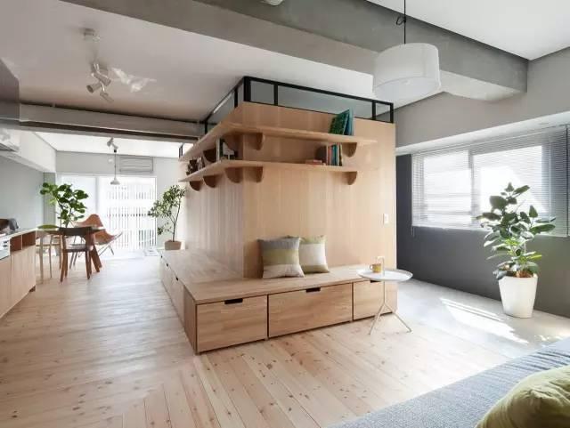 日本室内设计|小空间也能打造出宽敞的效果