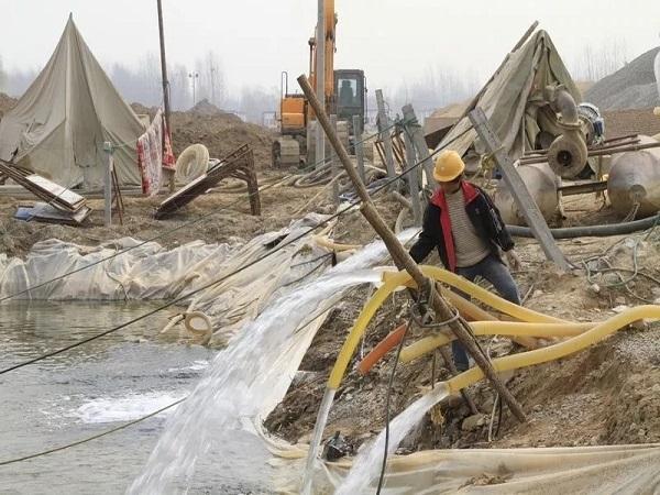 基坑内排水技术