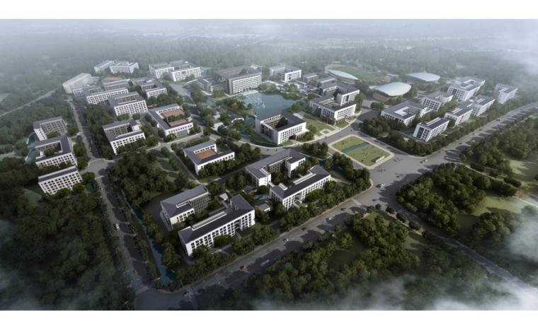 [浙江]树人大学杨汛桥校区总体规划及建筑设计方案文本