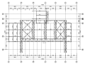 管桁架结构冷却塔罩棚钢结构施工图