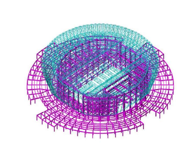 [东阳]体育馆新建项目钢结构工程施工组织设计(104页)图片丰富