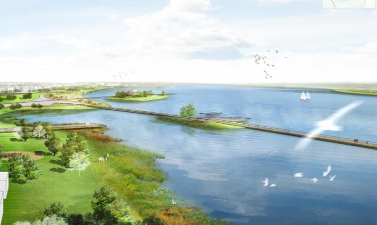 钱资湖景观概念规划设计方案文本-02都市滨湖门户区