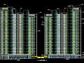 高层框剪结构汇林办公楼建筑施工图(华东院图纸)