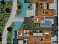 苏式园林别墅SU模型分享
