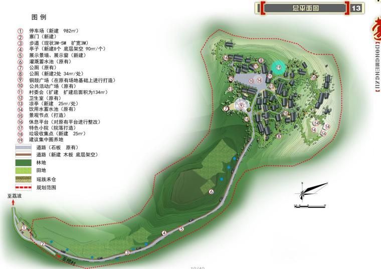 瑶山瑶族村庄茹类村整治规划方案设计文本PDF(40页)_11