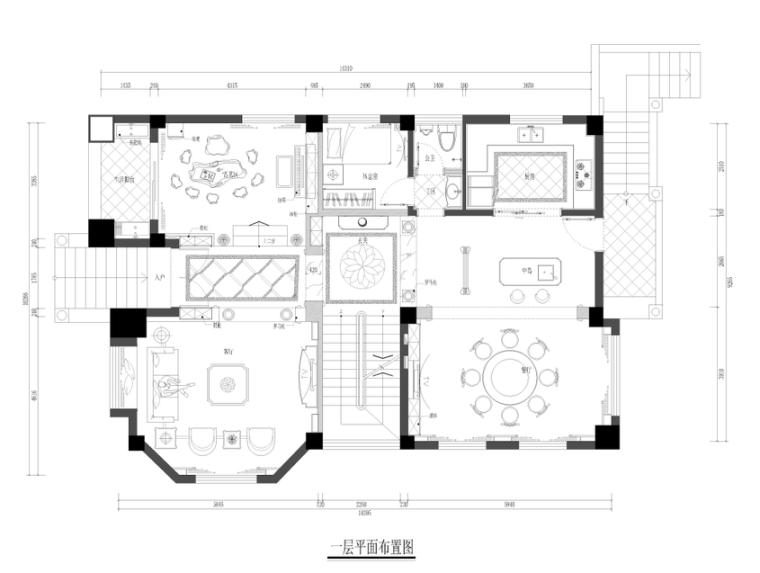[泉州]别墅设计完整施工图(附高清效果图、实景图)