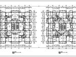 高层综合商住楼全套施工图(CAD带人防)