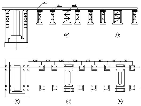 赵寨颍河双线特大桥128米双线简支钢桁梁浮拖法安装施工方案