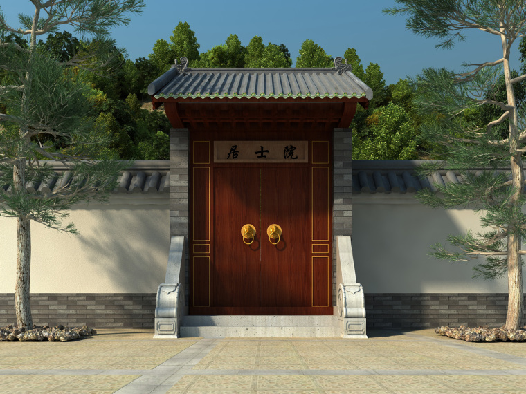 日式禅宗庭园结合禅宗美学设计案例——永福寺_14