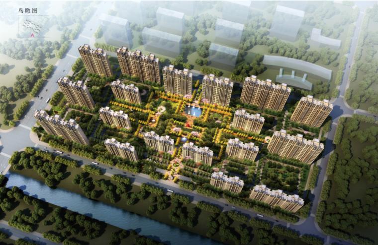 [江苏]现代ARTDECO风格社区化住宅建筑设计方案文本