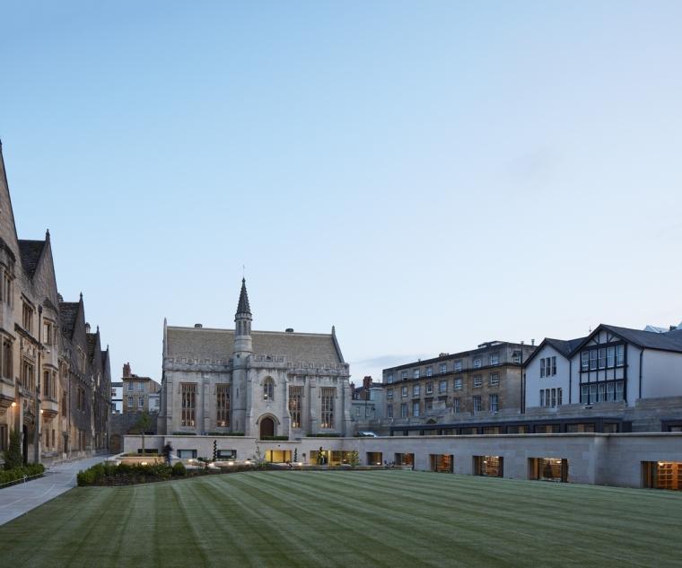 英国牛津大学莫德林学院Longwall图书馆
