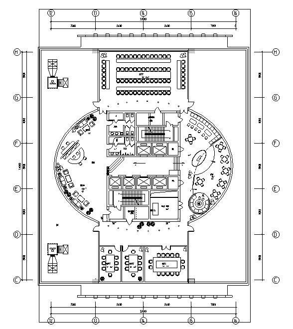[北京]某星級國際大酒店施工圖效果圖(含總統套房)