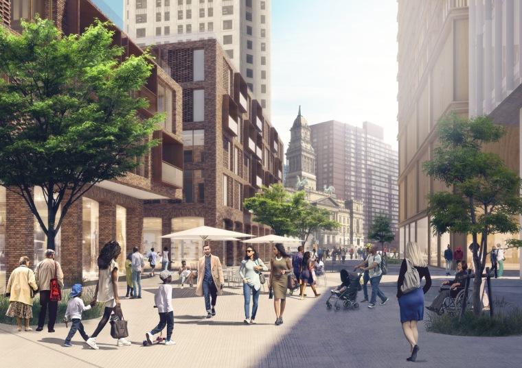 美国底特律地标性城市总体规划-5