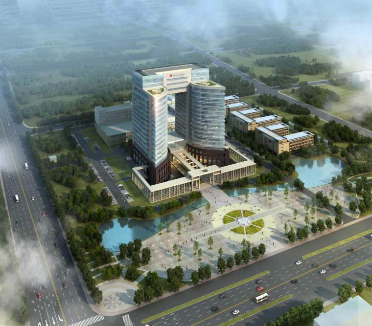鲁班奖办公中心大楼施工组织设计(框架核心筒,近300页)