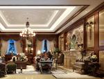 奢华欧式客厅3D模型下载