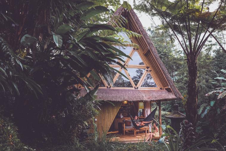 印尼巴厘岛竹屋
