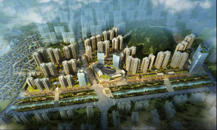 [贵州]高层住宅建筑设计方案文本(含商业建筑)