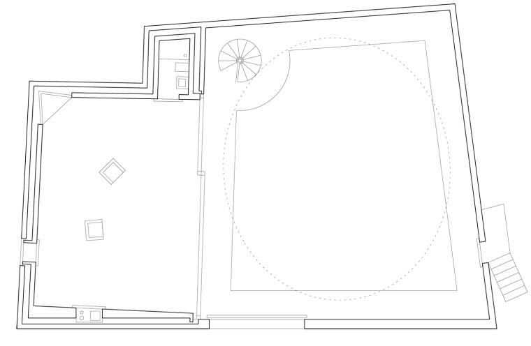 瑞士谷仓中的冥想建筑-7