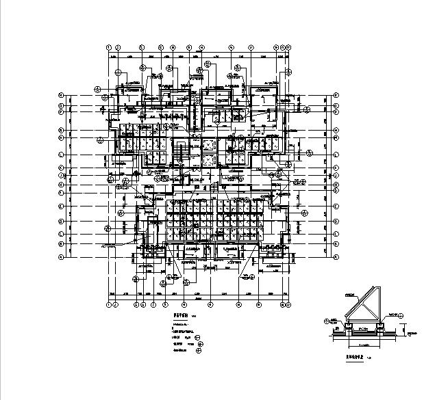 [海南]高层全专业审图后住宅建筑施工图(含全专业及车库)_9