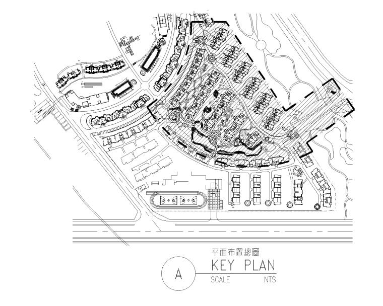[四川]成都中海名城居住区景观CAD施工图