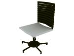 移动办公椅3D模型下载