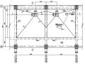 钢煤斗施工图(平面图,剖面图及详图)