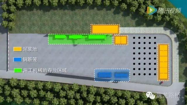 钻孔灌注桩施工全过程3D动画,看完你就是老司机!