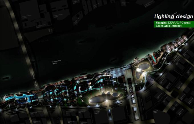 2010年上海世博会绿环区国际规划设计中标方案