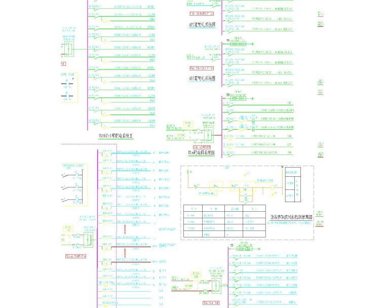 某图书馆电气施工图全套(含电气、照明、配电、消防联动)_12