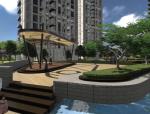 [上海]现代科技江景豪宅居住区景观设计方案