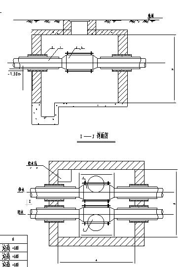 某小区室外给排水管网施工图设计(含阀门井大样)_4